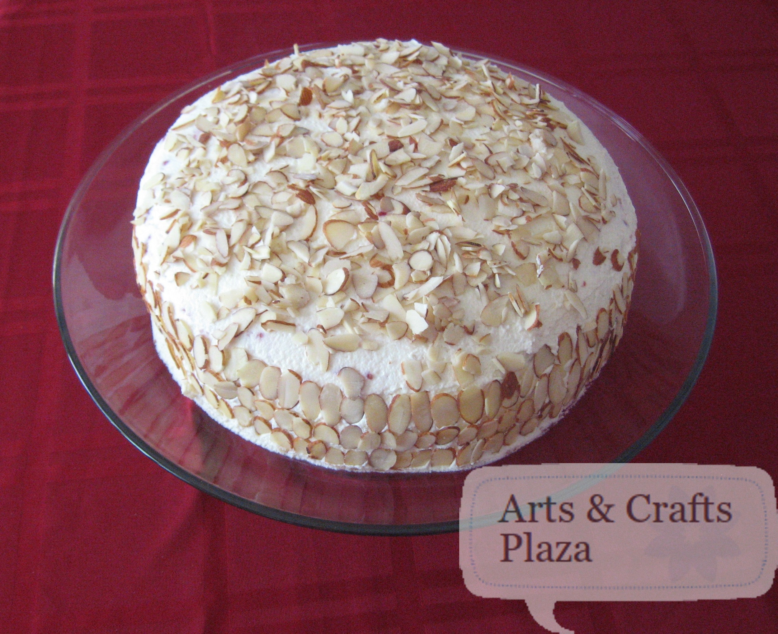 ... and white chocolate buttercream almond cake almond cake almond cake