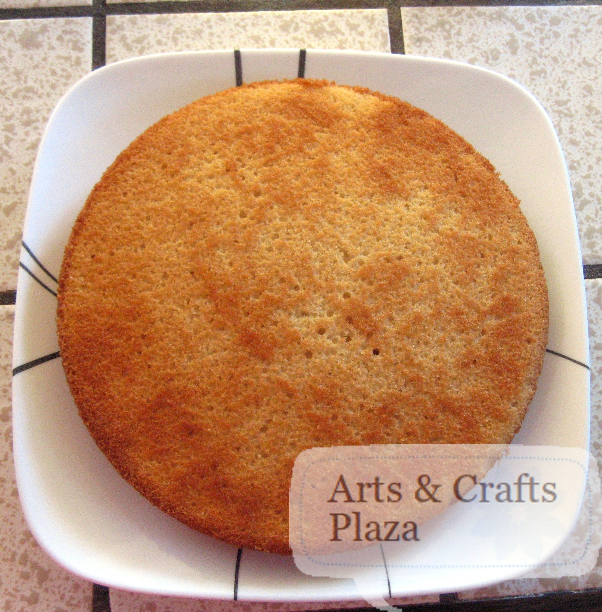 Almond Scented White Cake 23 — Arts & Crafts Plaza