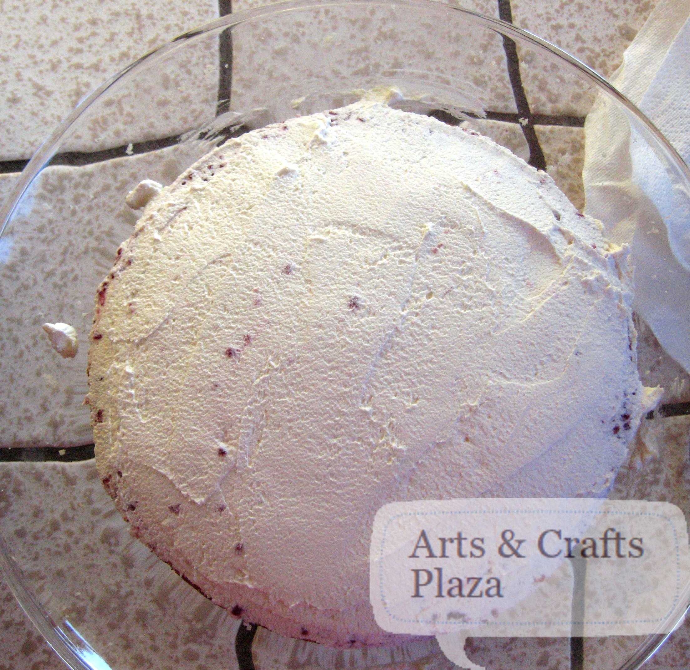 Almond Scented White Cake 33 — Arts & Crafts Plaza