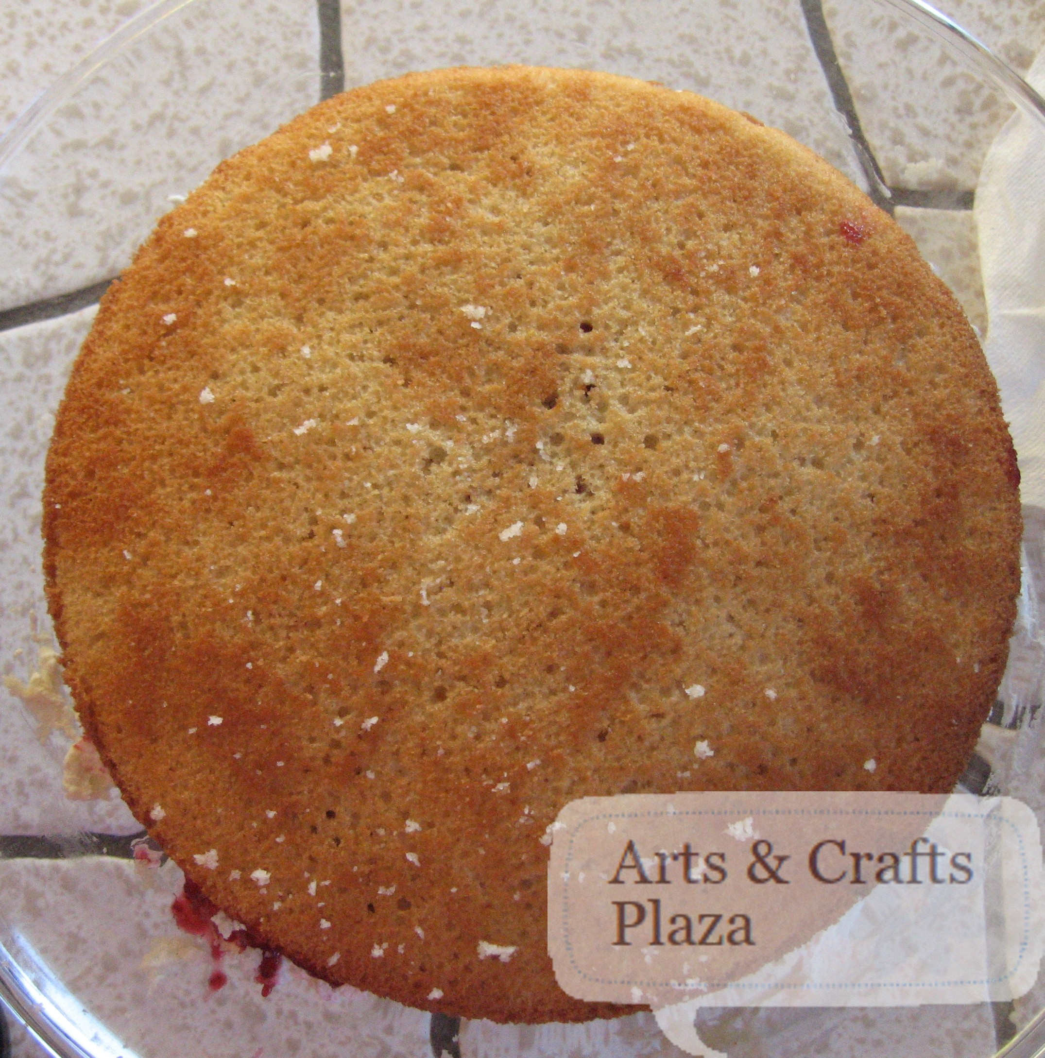 Almond Scented White Cake 34 — Arts & Crafts Plaza
